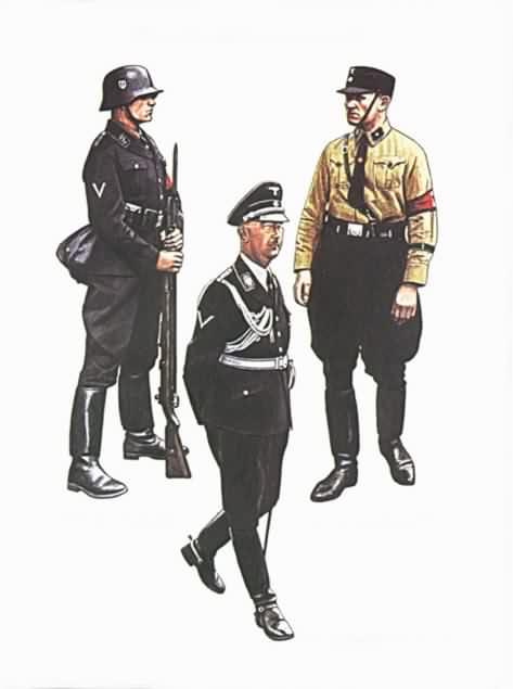 Немецкие Костюмы Военные